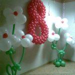 Купить шары в Бресте, цифры из шаров, Оформление мероприятий